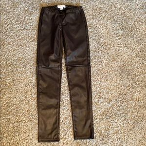 Michael Kors brown leggings